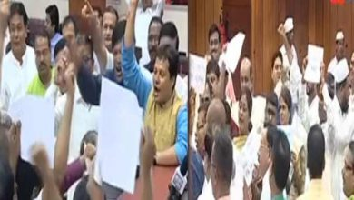 Photo of Assam: Opposition protests against NRC and rising fuel prices in Assembly