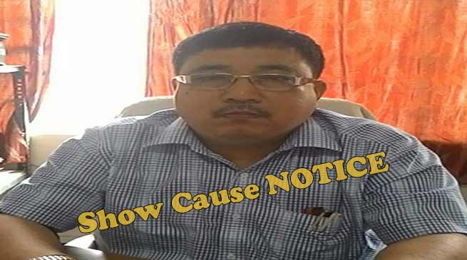 Assam: show cause to CEO, Zilla Parishad for gross misconduct
