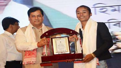Photo of Assam: Sonowal Makes Hima Das Sports Ambassador, Offers Job