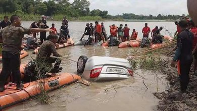 Photo of Assam: The ill-fated Family with Car Recovered from Dikhow River
