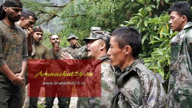 Photo of Chinese Army enters Indian side in Dibang Valley of Arunachal Pradesh