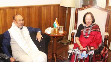 Photo of Manipur: N Biren Singh is 3rd best CM in India, Dr Najma Heptulla felicitates him