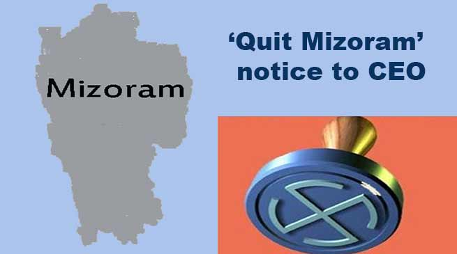 Mizoram NGOs and students bodies serve 'Quit Mizoram' notice to CEO