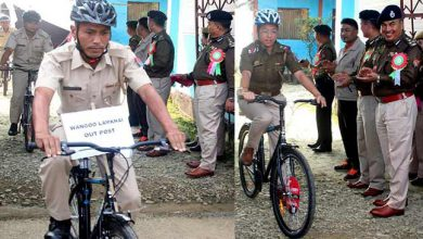 Photo of Manipur: 'Cycle PatrolUnit' for Manipur police