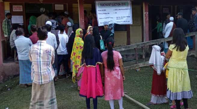 Assam Panchayat Election: 78 percent vote recorded in Hailakandi, figure may go up