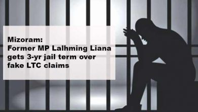 Photo of Mizoram: Former MP Lalhming Liana gets 3-yr jail term over fake LTC claims