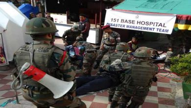 Photo of Assam: Army conducts Mock drill on Earthquake in Dispur