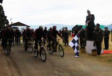 "Photo of Tri-Services Cycling and Trekking Expedition for ""Green Sikkim, Clean Sikkim"""