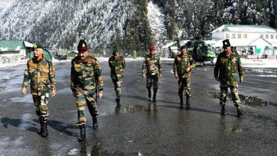 Photo of Sikkim: Army commander eastern command visits forward areas of sikkim