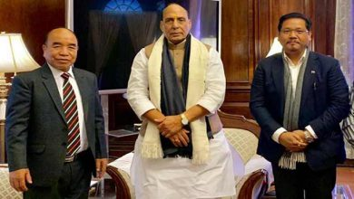 Photo of Citizenship ( Amendment) Bill: CMs of Mizoram and Meghalaya meet Rajnath Singh