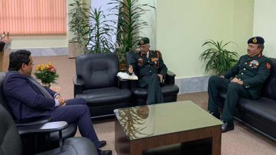 Photo of Meghalaya: Eastern Army Commander meets Governor and CM