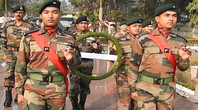 Assam: Gajraj Corps celebrates 71th Army Day