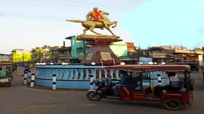 Assam: Netaji's birth anniversary observed in Hailakandi district
