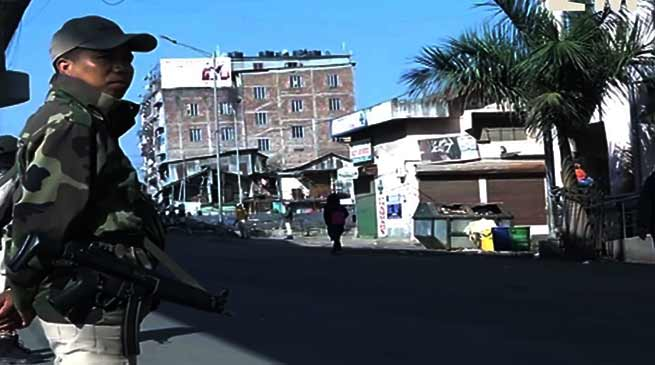 Manipur: 24 hrs Bandh against CAB affects normal life