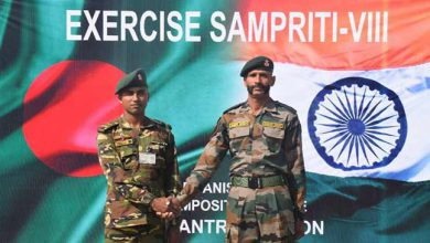 Photo of India-Bangladesh joint military exercise ' Sampriti ' begins