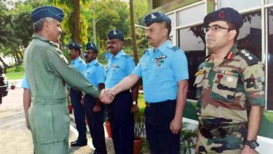 Photo of Assam: Air Officer Commanding-in-chief visits air force station digaru