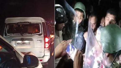 Photo of Assam: Himanta Biswa Sarma's convoy was attacked in West Bengal