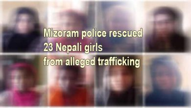 Photo of Mizoram: police rescued 23 Nepali girls from alleged trafficking