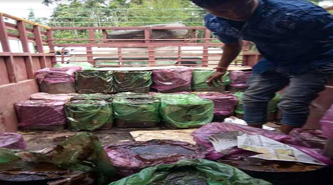 Assam: Molasses seized at two places in Hailakandi district