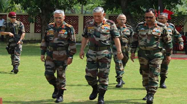 Army Chief Bipin Rawat visits Brahmastra Corps at Panagarh