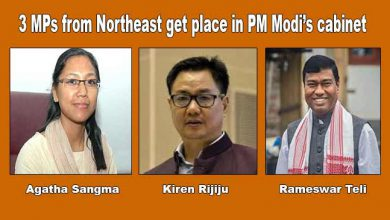 Photo of 3 MPs from Northeast get place in PM Modi's cabinet