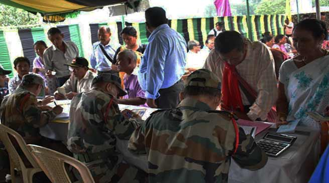 Assam: Red Horn Division organises EX-Servicemen Rally at Diphu