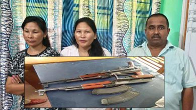 Photo of Assam:3 including 2 women arrested with AK-56 Rifle