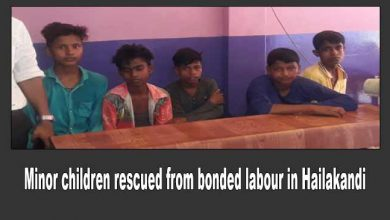 Photo of Assam: Five minor children rescued from bonded labour in Hailakandi