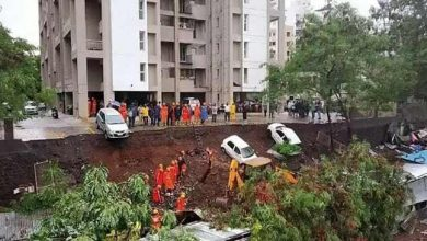 Photo of Pune: 15 killed after compound wall of a residential complex collapsed