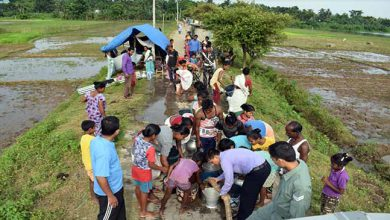 Photo of  Assam: Air force Station Digaru sets up Flood Relief Camp