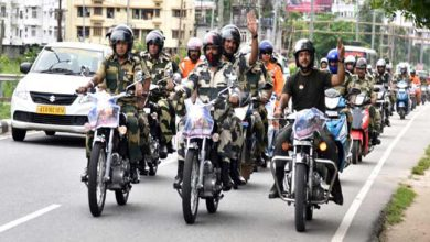 Photo of Assam: BSF celebrates Kargil Vijay Diwas with Motorcycle Rally