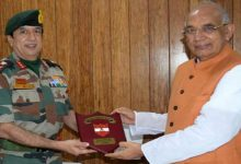 Photo of Tripura: GOC Spear Corps calls on Governor