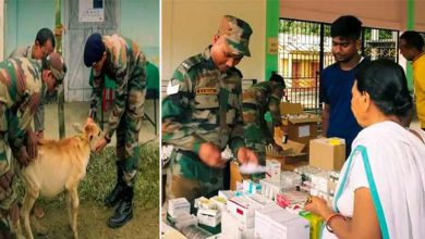 Photo of Assam: Indian Army plays the role of Messiah during flood