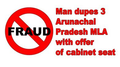 Photo of Man dupes 3 Arunachal Pradesh MLA with offer of cabinet seat