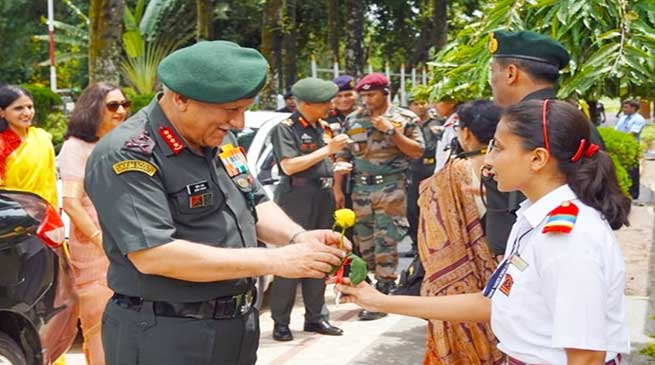 Army Chief Gen Bipin Rawat Visits Eastern Command HQ