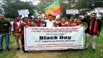 "Photo of Chakmas observe ""Black Day"" in India and Bangladesh"