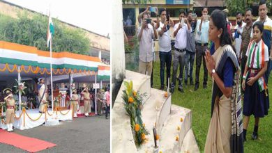 Photo of Assam:  DC, Keerthi Jalli unfurls national tricolour in Hailakandi