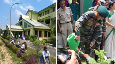 Photo of Assam: Tree Plantation Drive at Army Public School at Narangi