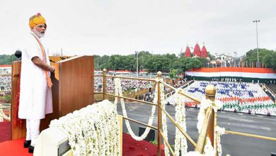 Photo of 73rd independence day: PM Modi addressed the nation from the Red fort