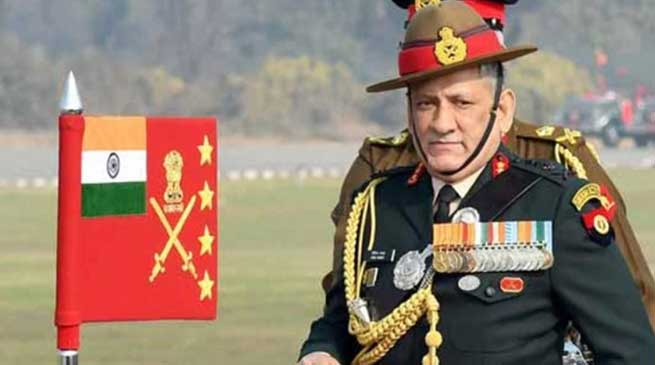 Army Chief General Bipin Rawat takes over as COSC