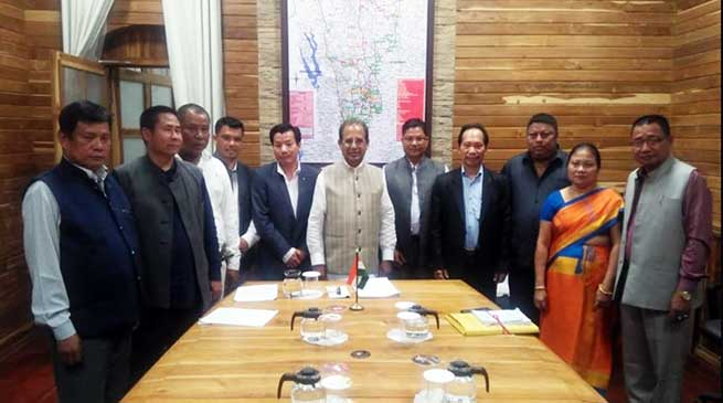 Mizoram: CADC BJP MDCs delegation meet Governor