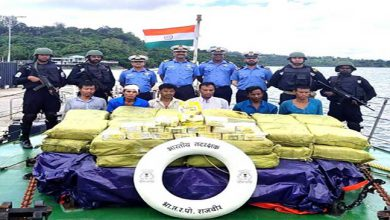Photo of Indian Coast Guard Seizes 300 cr Worth Drug Ketamine in Nicobar islands