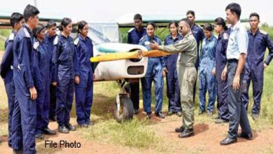 Photo of Assam: AIR wing NCC training underway at Guwahati