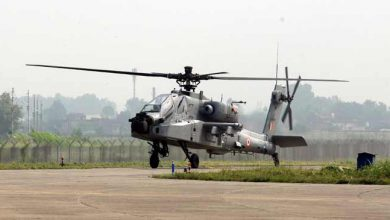 Photo of Pathankot: Apache Helicopter inducted in IAF