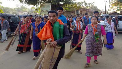 Photo of Mizoram: BJP's cleanliness drive at Kamalanagar