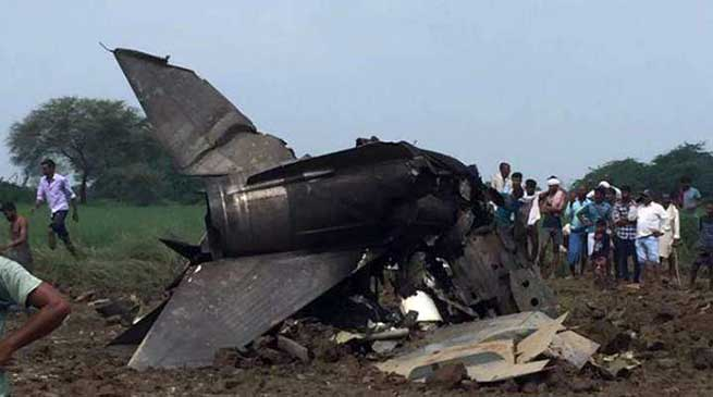 MP: IAF MIG-21 Trainer Aircraft Crashes in Gwalior