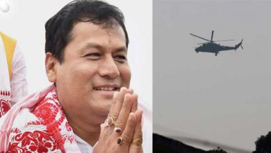 Photo of Close shave for Assam CM, chopper makes emergency landing