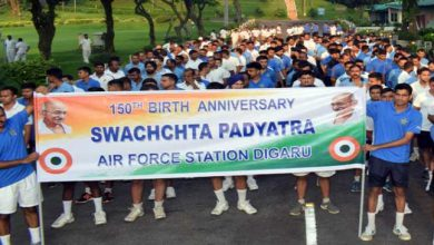 Photo of Assam: AIR Forces Station Digaru celebrates Gandhi Jayanti