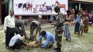 Photo of Assam: Indian Army Conducts VET AID Camp in Darrang