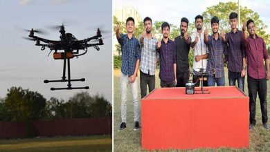 Photo of Assam: KU students launched Hexapod drone 'Pushpak'